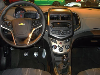 2012 Chevrolet Sonic with Z-Spec accessories - 2011 NY Auto Show ...