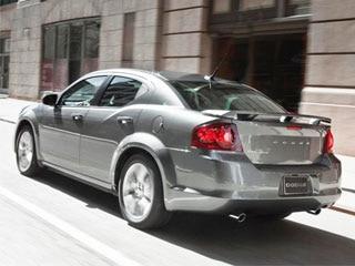 Dodge Avenger Rt Rear Action