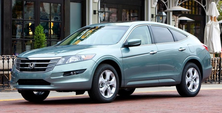 2012 Honda Crosstour Adds Four Cylinder Engine Choice