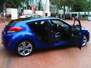 2012 Hyundai Veloster First Drive Review An Irregular