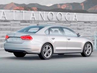 2012 VW Passat Rear