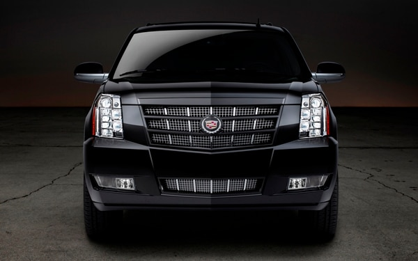 2012 Cadillac Escalade Front and Grille