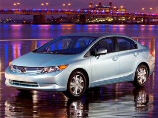 2012 Honda Civic Hybrid front