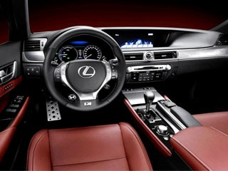 2013 Lexus GS 350 With F SPORT Package Revealed