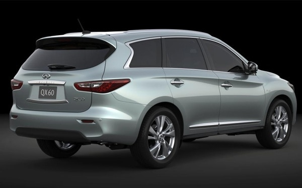 2014 infiniti qx60 hybrid crossover suv teased for new york kelley blue book. Black Bedroom Furniture Sets. Home Design Ideas