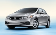 2014 Honda Civic CNG: $27,430  27/38/31 mpg