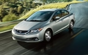 2014 Honda Civic Hybrid: $25,425  44/47/45 mpg