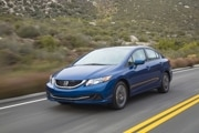 2014 Honda Civic HF: $20,730  31/41/35 mpg