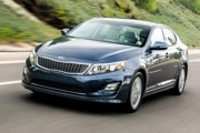 2014 Kia Optima Hybrid: $26,795  36/40/38 mpg