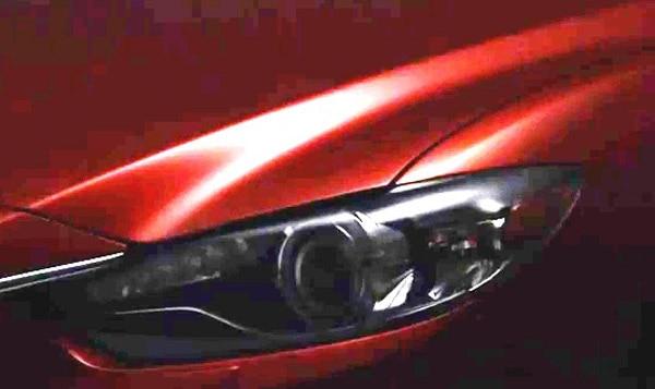 2014 Mazda Mazda6 teased