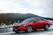 2015 Mazda Mazda6 with i-Eloop: $32,770  28/40/32 mpg