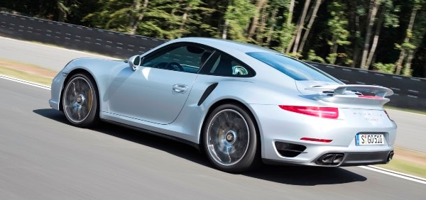 but regardless of which model you choose agility and cornering ability is beyond reproach every steering input produces an immediate response with very - Porsche 911 Turbo 2014 Blue