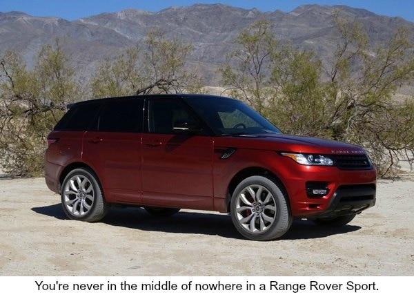 2014 Range Rover Sport Desert