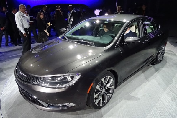 2015 Chrysler 200 at the 2014 Detroit Auto Show