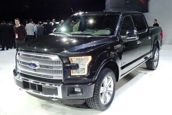 2015 Ford F-150 at the 2014 Detroit Auto Show