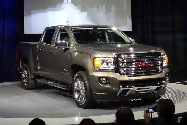 2015 GMC Canyon at the 2014 Detroit Auto Show