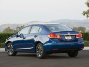 2015 Honda Civic Rear