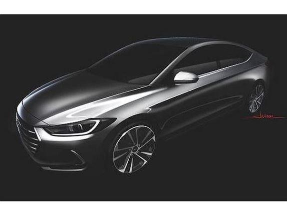 Hyundai elantra redesign