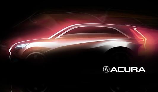 Acura crossover concept