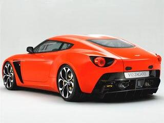 Aston Martin V12 Zagato Frankfurt Auto Show