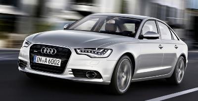 2012 Audi A6 motion