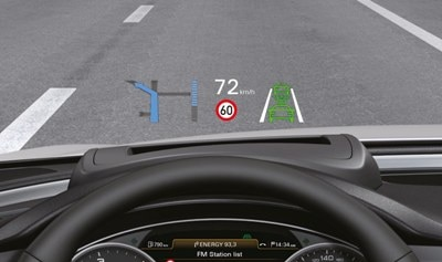 2012 Audi A6 head up display (euro)