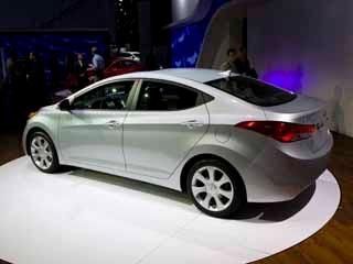 2011 Hyundai Elantra 2010 Los Angeles Auto Show Kelley