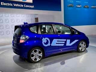 Honda Fit EV Concept  2010 Los Angeles Auto Show  Kelley Blue Book