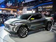 Hyundai Santa Cruz Concept (+VIDEO)