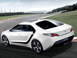 Hyundai Blue2 Concept Forecasts Future Fuel Cell Sedan Plans