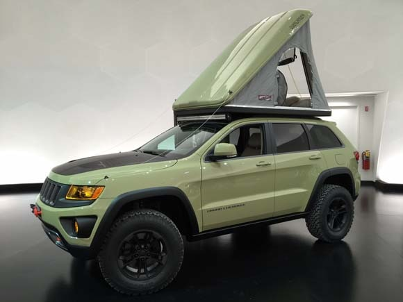 With an AutoHome hard shell pop-up tent riding its roof rack the Overlander is reminiscent of Volkswagenu0027s old Westfalia c&er van providing instant ... & Seven Jeeps youu0027ll never see on public roads...unless youu0027re in ...