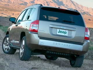 2010 Jeep Compass Rear