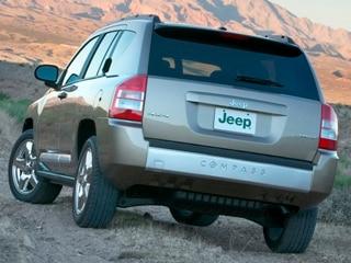 2010 Jeep Compass Rear
