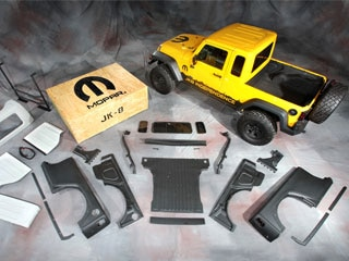 Those With A Bit Of Long Term Jeep Perspective Will Note That The Mopar JK 8  Package Borrows A Number Of Key Visual Cues From The U002780s Era Jeep  Scrambler ...