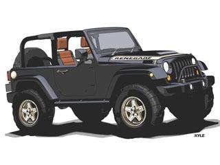 Jeep Wrangler Renegade >> Jeep Wrangler Porkchop And Wrangler Renegade Safari Sneak Peek