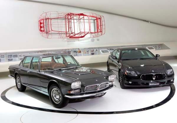 Maserati Centennial Exhibition opens in Modena 24