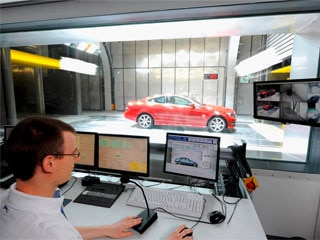 Mercedes-Benz wind tunnels provide the ultimate in climate control