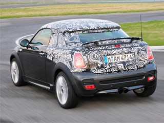 Mini Cooper Coupe Prototype Revealed Official Spy Shots Kelley