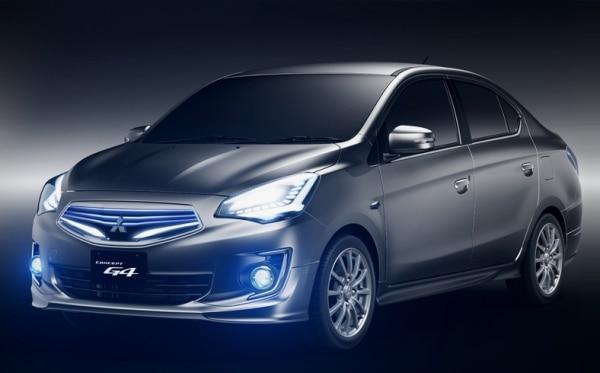 mitsubishi g4 concept sedan