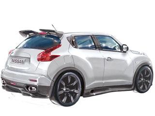 Nissan Juke R Concept High Profile Hauler Gets The Soul Of A Gt R