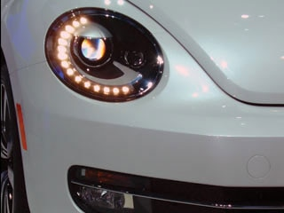 volkswagen beetle wvideo  ny auto show kelley blue book