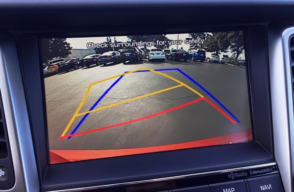 5 favorite safety features - backup camera