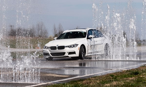 BMW Teen Driving School - Water Wall