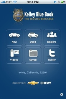 top 5 reasons to download the new iphone app kelley blue book. Black Bedroom Furniture Sets. Home Design Ideas