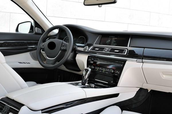 Luxury Sedan Interior 1