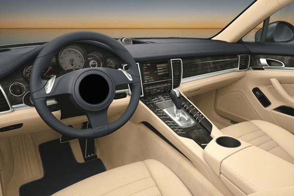 Luxury Sedan Interior 2