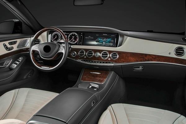 Luxury Sedan Interior 4