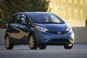 2014 Nissan Versa Note (CVT): $16,050  31/40/35 mpg