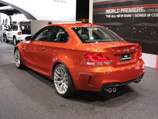 BMW Series M Coupe Detroit Auto Show Wvideo - Bmw 1 series m coupe price