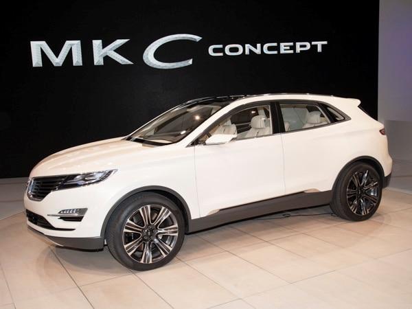 Revealed Lincoln Mkc Concept Detroit 2013 Kelley Blue